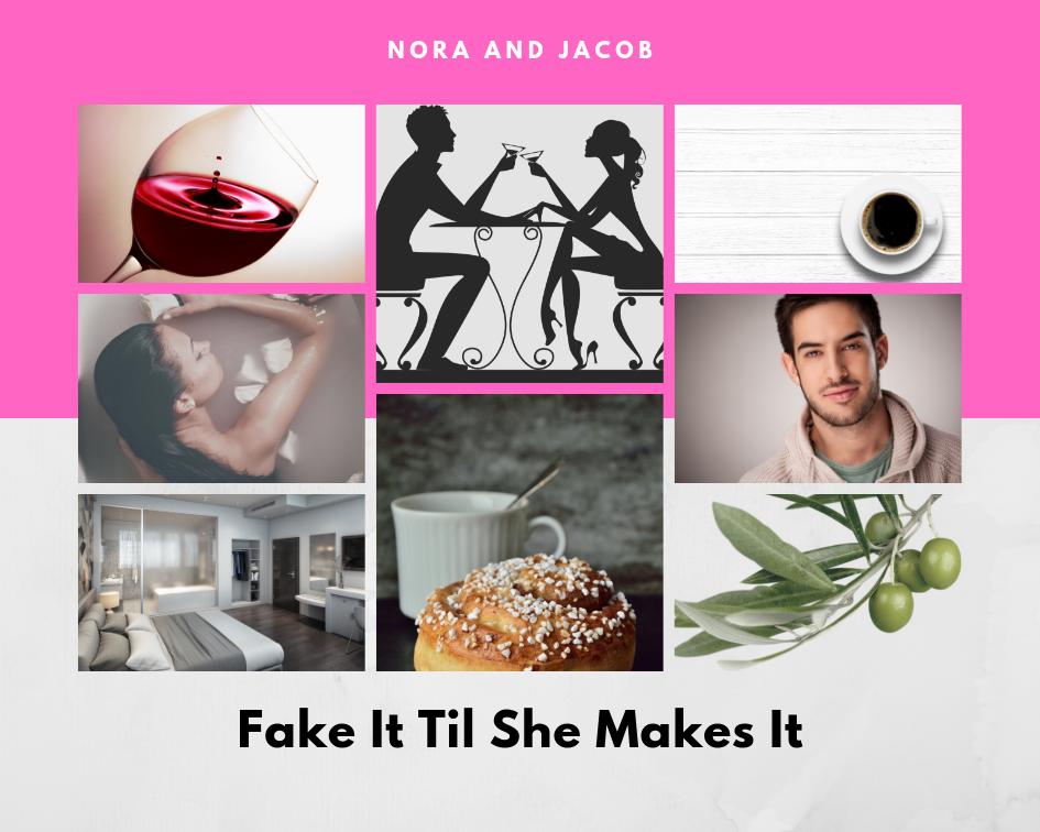 Moodboard for FAKE IT TIL SHE MAKES IT